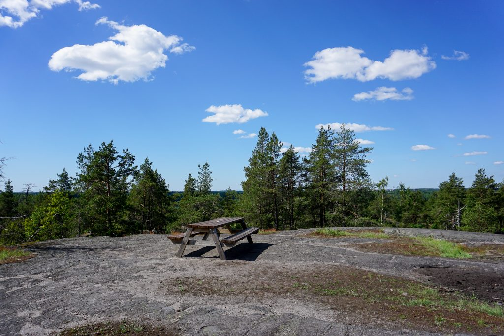 hiking in Finland