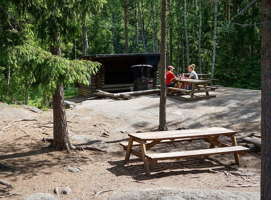 Kalkkiruukki campsite