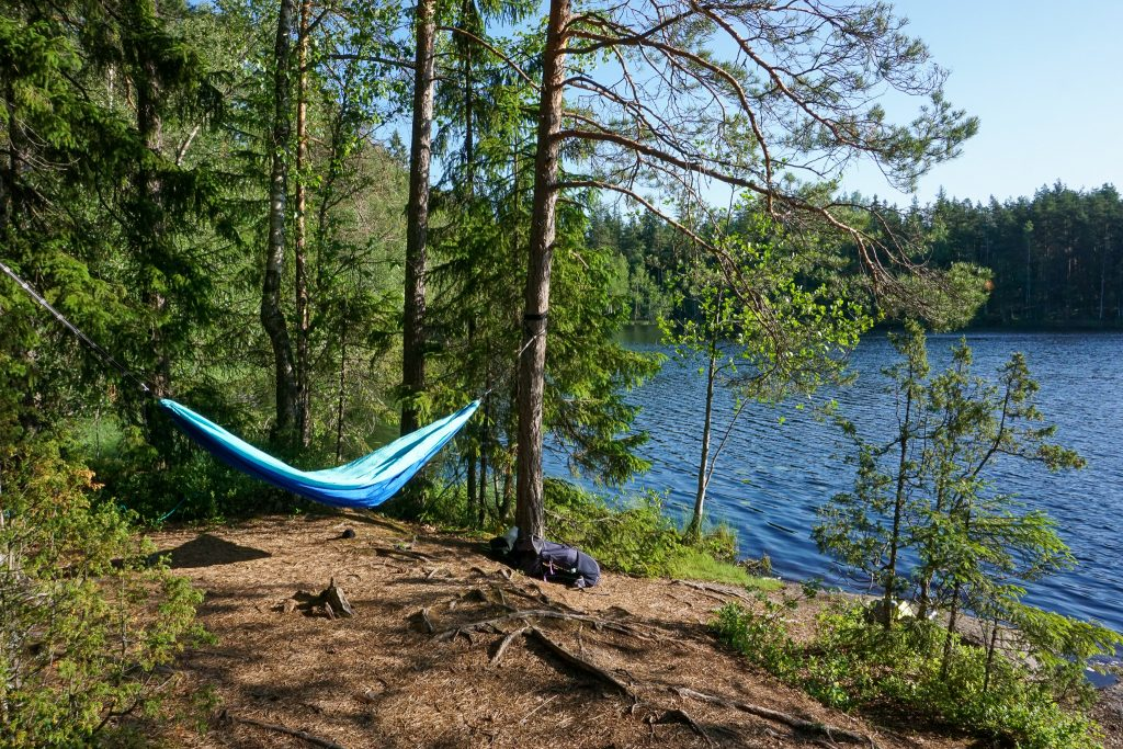 or would you rather spend the night on a hammock?